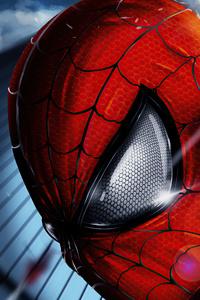 Spiderman Coming Closeup