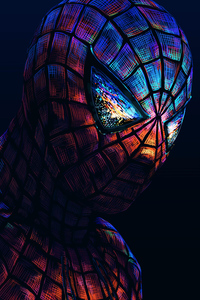Spiderman Dark Art