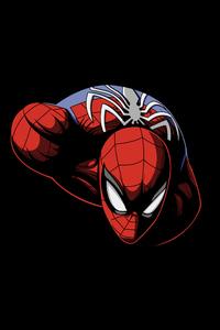 720x1280 Spiderman Dark Oled 5k