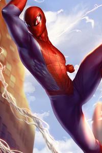 1440x2560 Spiderman Day Light