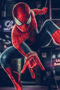 480x800 Spiderman Dc Heroes 4k