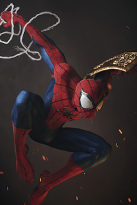 480x800 Spiderman Digital 3d