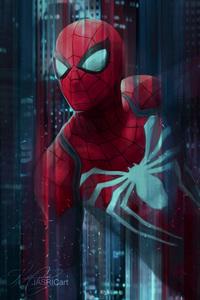 Spiderman Digital Art 4k