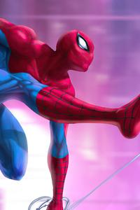 1440x2560 Spiderman Digital Illustration 5k
