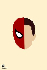 Spiderman Face Minimalism