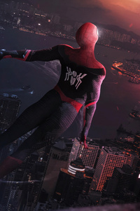 Spiderman Far Away 4k