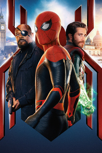 540x960 Spiderman Far From Home 2019 Movie