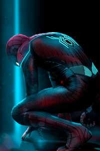 Spiderman Far From Home Art