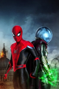640x1136 Spiderman Far From Home Movie 4k