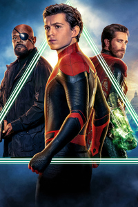 Spiderman Far From Home Movie 5k 2019