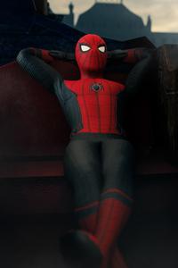 Spiderman Far Fromhome 4k Artwork