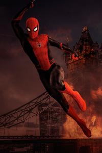 Spiderman Far Fromhome Art 4k