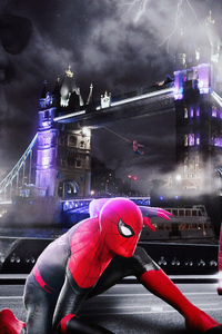Spiderman Far Fromhome Artwork