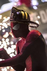 Spiderman Firefighter