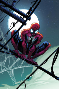 Spiderman Full Moon