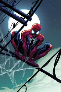 1280x2120 Spiderman Full Moon