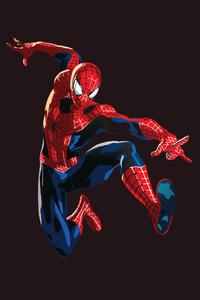 Spiderman Graphic Design 4k