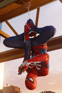 Spiderman Hanging Out Ps4 4k