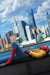 1280x2120 Spiderman Homecoming 2017