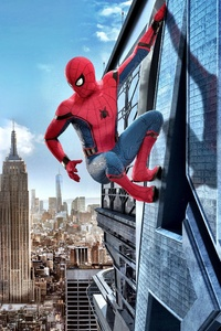 360x640 Spiderman Homecoming 4k