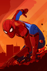 Spiderman Homecoming Art New