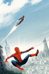 Spiderman Homecoming Artwork Poster