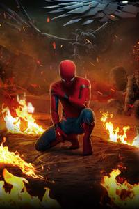 480x854 Spiderman Homecoming Chinese Poster