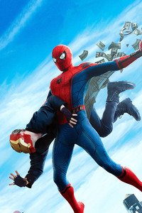 480x800 Spiderman Homecoming Final Poster