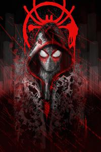 360x640 Spiderman Hoodie Logo