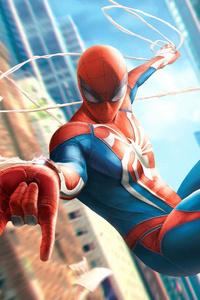 Spiderman In City 4k