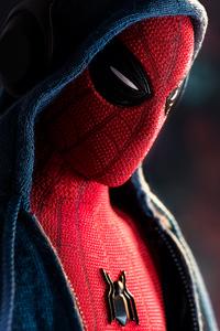 720x1280 Spiderman In Hoodie