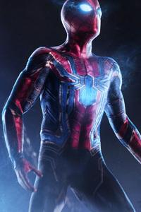 1440x2560 Spiderman Infinity War 4k Art