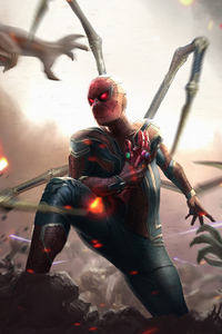 1440x2560 Spiderman Instant Kill