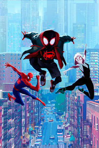 720x1280 Spiderman Into Spider Verse 5k
