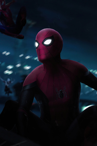 Spiderman Into The Multiverse 5k