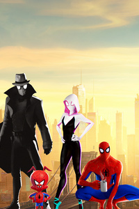 2160x3840 Spiderman Into The Spider Verse 15k