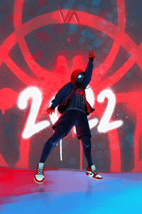 1440x2560 Spiderman Into The Spider Verse 2 4k