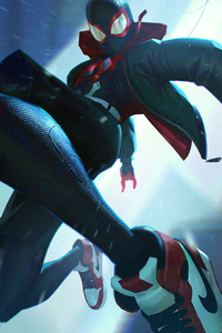 SpiderMan Into The Spider Verse 2018 Arts