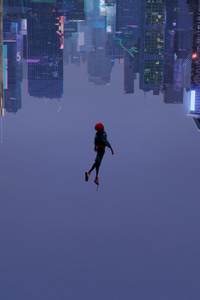 1080x2280 SpiderMan Into The Spider Verse 2018 Movie