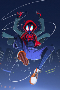 SpiderMan Into The Spider Verse Artwork