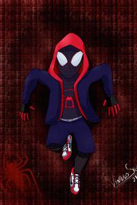 SpiderMan Into The Spider Verse Comic Art
