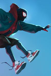 SpiderMan Into The Spider Verse Digital Art