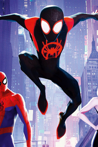 SpiderMan Into The Spider Verse France Poster
