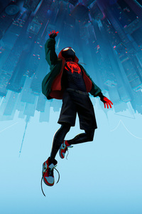 SpiderMan Into The Spider Verse Movie 10k
