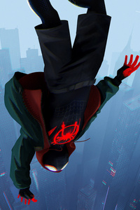 SpiderMan Into The Spider Verse Movie 2018 8k