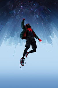 SpiderMan Into The Spider Verse Movie 5k