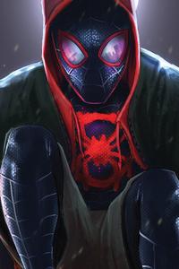 SpiderMan Into The Spider Verse Movie Art 2018