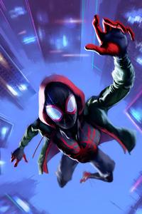 SpiderMan Into The Spider Verse Movie Arts 2018