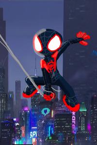 SpiderMan Into The Spider Verse Movie Artwork