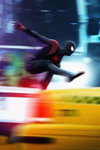 SpiderMan Into The Spider Verse Movie Digital Art